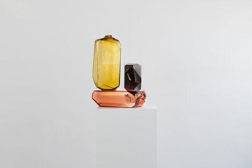 Arik LEVY - Sculpture-Volume - MicroRockFormationGlass 56