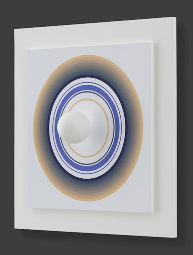 Antonio ASIS - Grabado - Asistype 4 - boule sur cercle