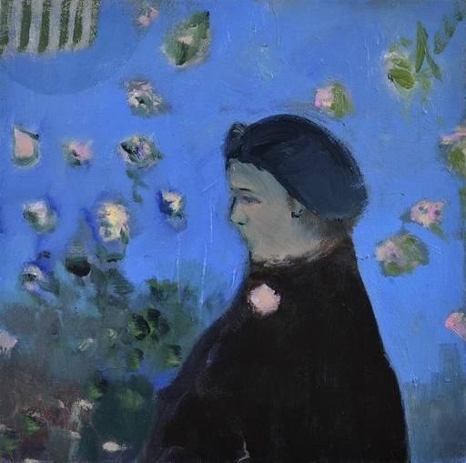 Jennifer HORNYAK - Pintura - Lady with Broach