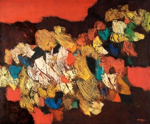 Mordecai ARDON - Painting - Movment