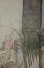 Rudolf HRADIL - Drawing-Watercolor - Tour Montparnasse