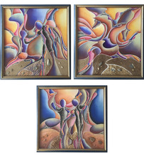 Marcel DORTHE - Painting - Sans Titre