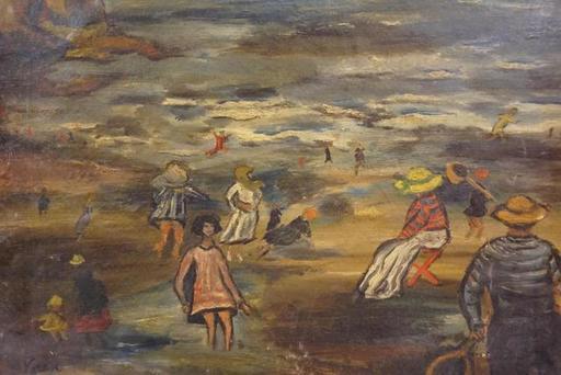 Gabrielle Pietro VARESE - Painting - la plage