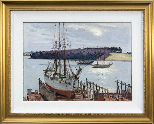Robert PILOT - Peinture - Lunenberg, Nova Scotia