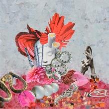 Laetitia DE GAULLE - Painting - Femme aux serpents