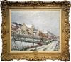 Gustave LOISEAU - Painting - La Neige en 1911