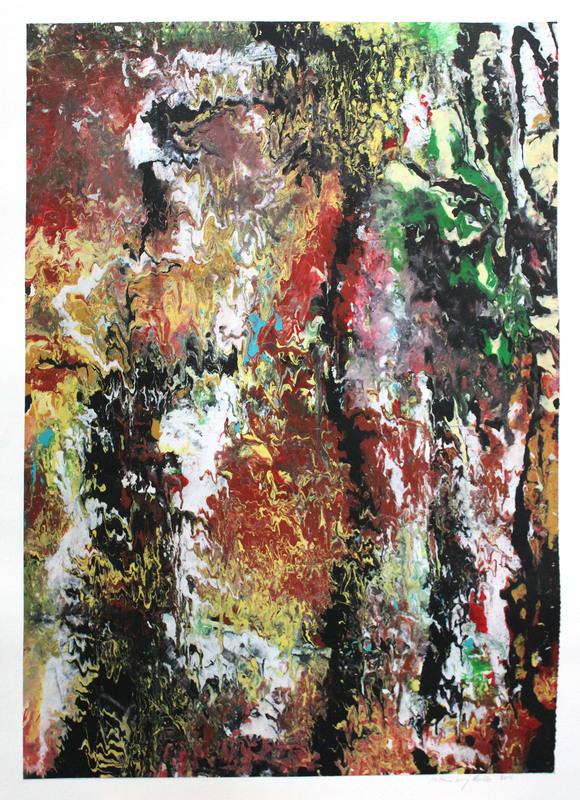 Mathieu LESECQ-ABIBB - Peinture - sans titre