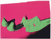Andy WARHOL (1928-1987) - Pears, from Space Fruit: Still Lifes