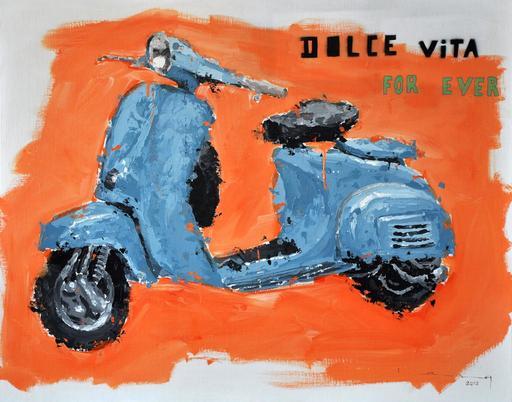 Sylvain LANG - Pintura - Dolce Vita For Ever