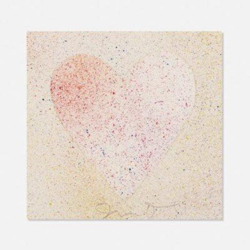 Jim DINE - Print-Multiple - Confetti Heart