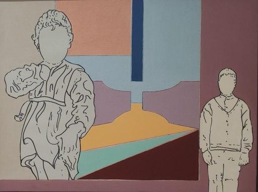 Renato MAMBOR - 绘画 - Le due età