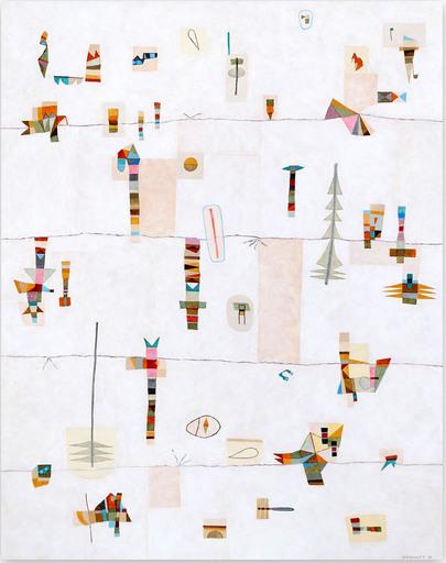 Jérémie IORDANOFF - Gemälde - Taïga
