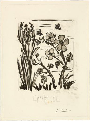 巴勃罗•毕加索 - 版画 - L'Aveille