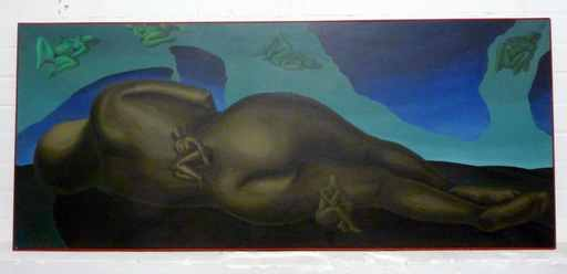 Edgar TEZAK-NEOGY - Pintura - o.T.