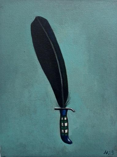 Damir MURATOV - Painting - Blade