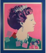 Andy WARHOL - Print-Multiple - Queen Margrethe II of Denmark, from Reigning Queens