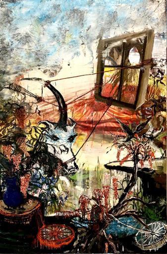 "Emmanuelle RENARD - Pittura - ""La Licorne"""