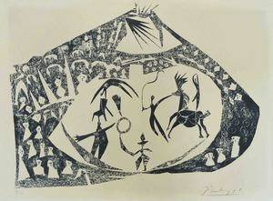 Pablo PICASSO, The Circus (Second state)