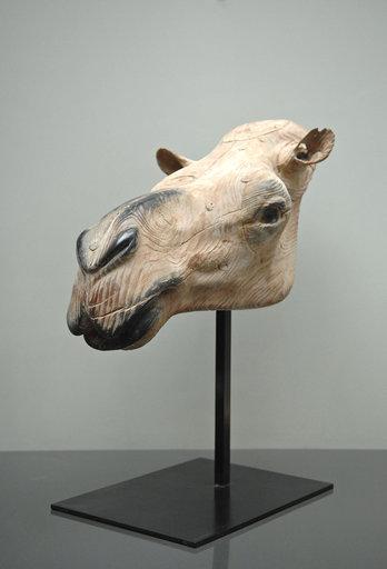 Quentin GAREL - Scultura Volume - Tête de chameau