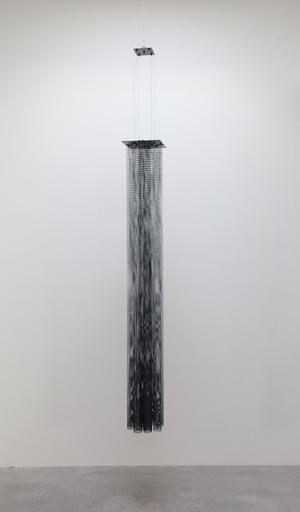 Piero FOGLIATI - Sculpture-Volume - Fleximofono (blu petrolio)