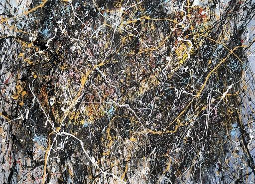 Jean-Jacques MARIE - Gemälde - Composition A408