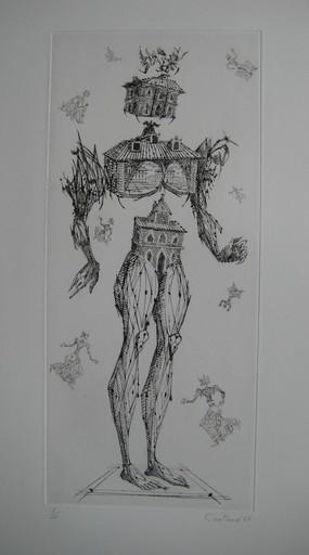 Lucien COUTAUD - Stampa-Multiplo - GRAVURE 1966 SIGNÉE CRAYON NUM/30 HANDSIGNED NUMB ETCHING