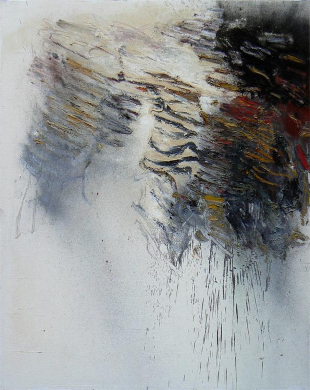 Giancarlo BARGONI - Painting - Da sotto il bianco