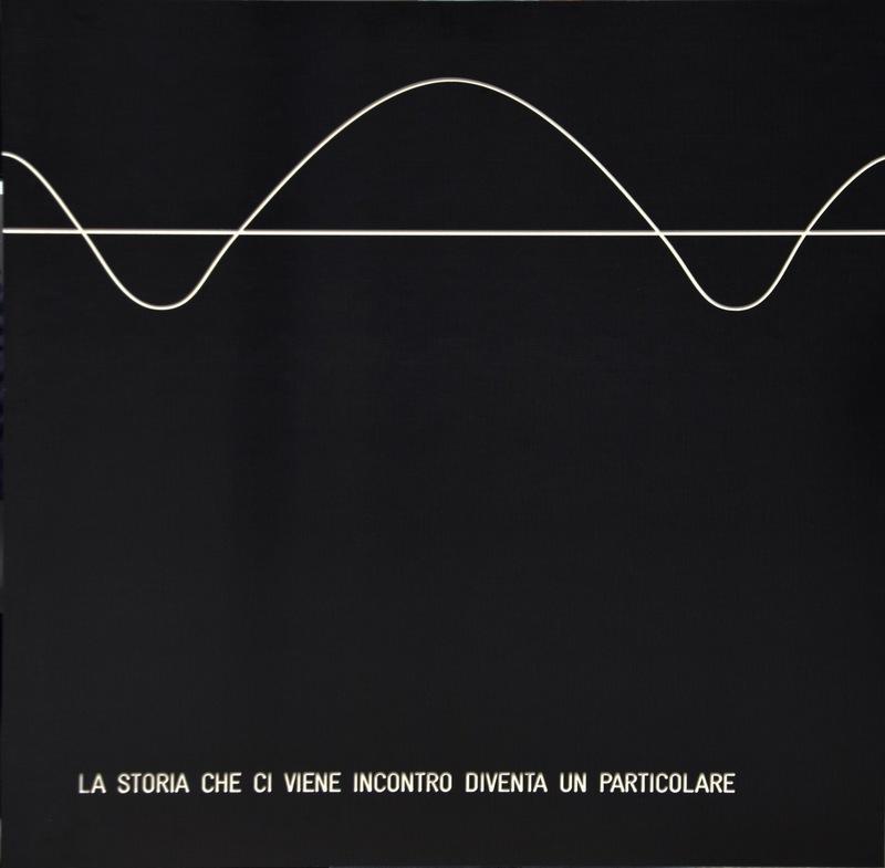 Vincenzo AGNETTI - Pintura - La storia che ci viene incontro diventa un particolare