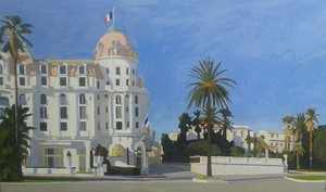 Omar LOGANG - Peinture - French riviera