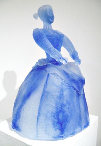 """Louis CANE - Sculpture-Volume - Ménine """"Française"""" C"""