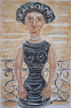 Massimo CAMPIGLI - Print-Multiple - Woman on the Balcony | Donna al Balcone