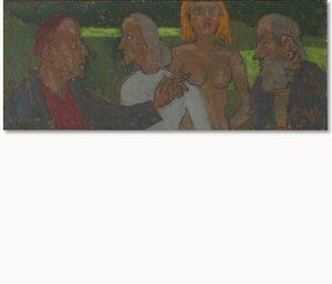 Grégoire MICHONZE - Painting - Figures