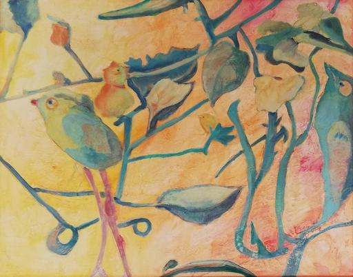 Ewa WITKOWSKA - Gemälde - Bird radio