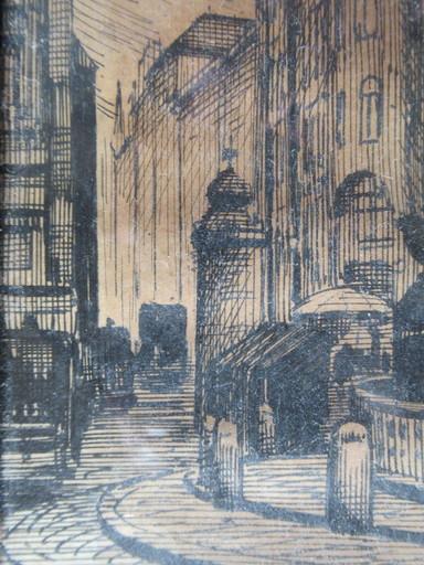 Stanislaw DEMBINSKI RAWICZ - Drawing-Watercolor - Architecture