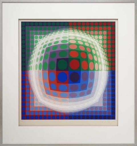 Victor VASARELY - Print-Multiple - Vega PAL VI