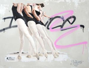 Sylvain LANG - Pintura - Graffiteuses