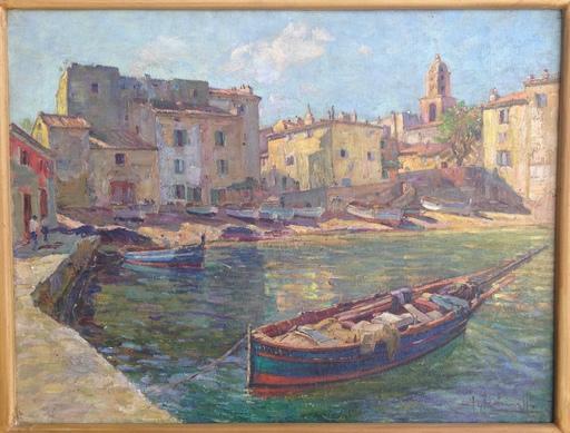 Joaquín TERRUELLA MATILLA - Pittura - Ponche Saint Tropez
