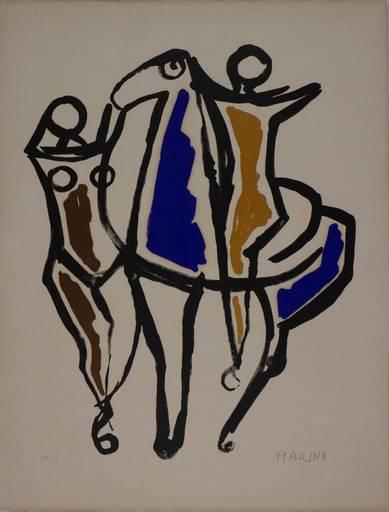 马里诺•马里尼 - 版画 - Ceramica II