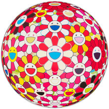 Takashi MURAKAMI (1962) - Flowerball 3D Goldfish Colors