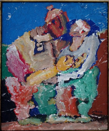 Hamed ABDALLA - Painting - Couple