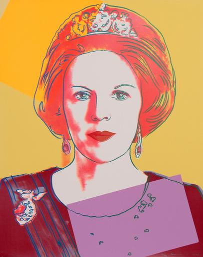 Andy WARHOL - Print-Multiple - Queen Beatrix (FS.II.341)