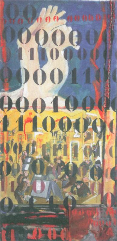 Bertille DE BAUDINIERE - Peinture - Painting by Numbers C'est la vie
