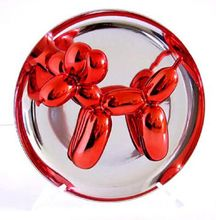 Jeff KOONS - Grabado - Red Balloon Dog