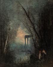Camille Jean-Baptiste COROT - Pintura - The Orphean