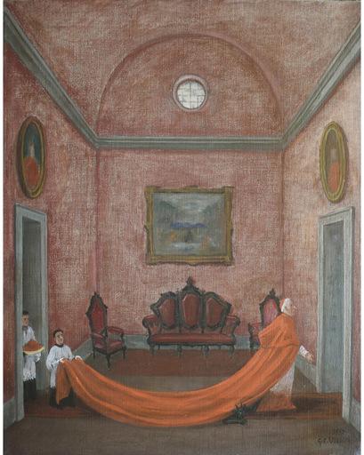 Gianfilippo USELLINI - Pintura - Il Cardinale