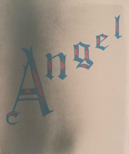 Ed RUSCHA - Estampe-Multiple - Angel