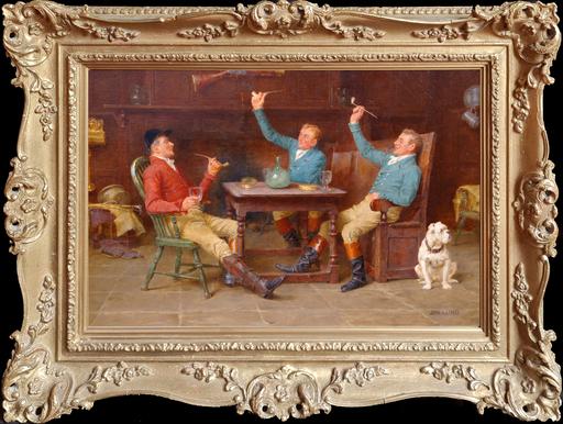 John Arthur LOMAX - Pittura - A Hearty Praise