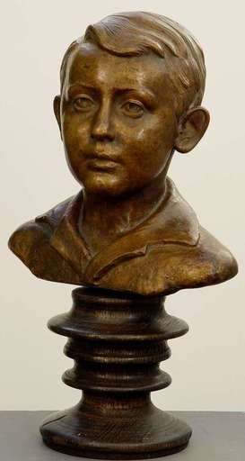 Volmer BAHNER - Skulptur Volumen - Young Boy