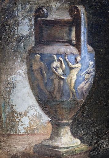 Albert Paris GÜTERSLOH - Painting - c.1911-12  The Greek vase