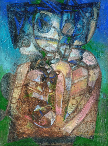 Raul ENMANUEL - Pintura - Formas Divinas